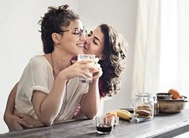 Lesbisches Dating